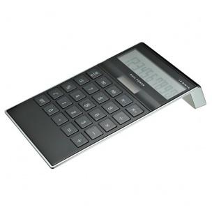 dual power tischrechner 10 stellig taschenrechner bedruckt werbeartikel werbetextilien. Black Bedroom Furniture Sets. Home Design Ideas